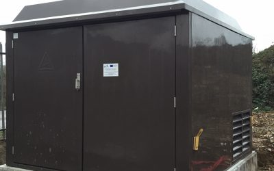 New electrical substation at our Beccles site